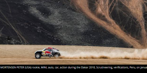 Rallye Dakar au Pérou